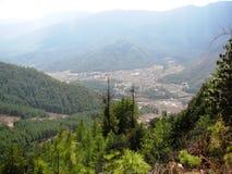 Tal-Ansicht Stockbild