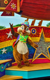 Tal bei Disneyland Stockbild