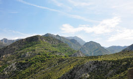 Tal-Berge lizenzfreie stockbilder