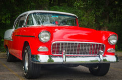 50-tal Chevy Car Royaltyfri Bild