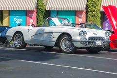 50-tal Chevy Corvette Fotografering för Bildbyråer
