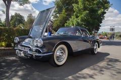 50-tal Chevy Corvette Royaltyfri Bild