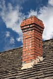 Tal Chimney Stockbild