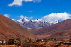 Tal der Chuanxi-Hochebene Lizenzfreies Stockfoto