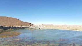 Tal der Felsen im Altiplano von Bolivien nahe Uyuni-Salzebenen stock video footage