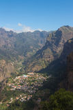 Tal der Nonnen, Madeira, Portugal Royalty Free Stock Photos
