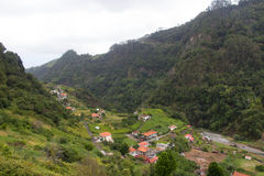 Tal der Nonnen, Madeira, Portugal Royalty Free Stock Images
