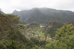 Tal der Nonnen, Madeira, Portugal Stock Photography