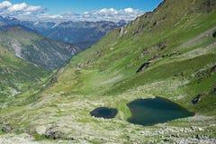Tal der Seen Lizenzfreies Stockfoto