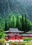 Tal der Tempel Memorial Park, Maui, Hawaii lizenzfreies stockbild