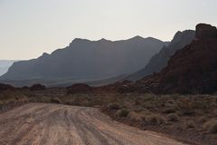 Tal des Feuer-Nationalparks Lizenzfreie Stockfotografie
