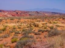 Tal des Feuers, Nevada Stockfotografie