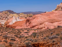 Tal des Feuers, Nevada Lizenzfreie Stockfotografie