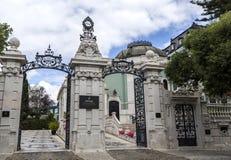 Tal des 19. Jahrhunderts Flor Palace stockbilder