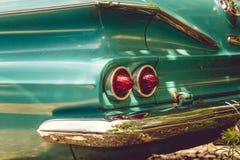 50-tal för New York tappningbil Royaltyfria Foton
