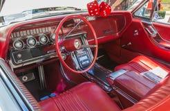 60-tal Ford Thunderbird Interior Fotografering för Bildbyråer