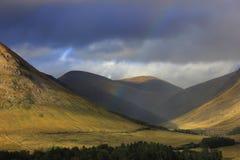 Tal Glen Coe, Schottland stockfotos