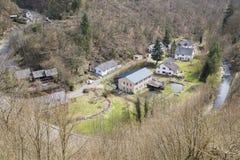 Tal Manderscheid Eifel, Deutschland stockfotos