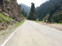 Tal Mughal Straße-Kaschmir Stockbilder