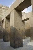 Tal-Tempel von Khafre (Chepfren) Stockfotografie