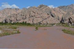 Tal und Fluss Lizenzfreies Stockbild