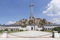 Tal von gefallen, Madrid, Spanien Lizenzfreies Stockbild