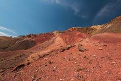 Tal von Mars-Landschaften stockbilder