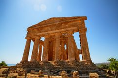 Tal von Tempeln Agrigent, Italien, Sizilien stockfoto