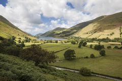 Tal-y-llyn, Snowdonia, Wales. The valley and lake of Tal-y-llyn in Gwynedd, Snowdonia, North Wales stock photo