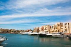 Tala Bay Marina Royaltyfria Foton