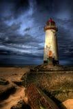 talacre маяка Стоковое Изображение