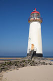 Talacre latarnia morska Obrazy Royalty Free