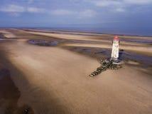 Talacre Leuchtturm Stockfotografie