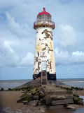 Talacre Leuchtturm Stockbild