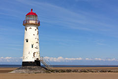 Talacre lighthouse Royalty Free Stock Photo