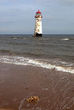 Talacre lighthouse Royalty Free Stock Photography