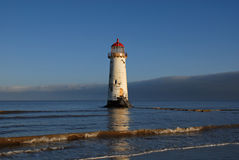 Talacre Lighthouse in North Wales Stock Photo