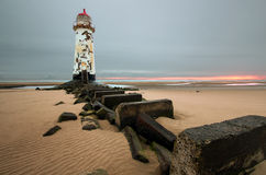 Talacre lighthouse Royalty Free Stock Image