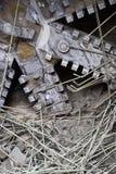Taladradora del túnel en la acción Fotografía de archivo libre de regalías