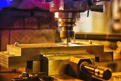 Taladradora industrial Imagen de archivo libre de regalías