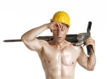 Taladro del constructor. fotografía de archivo