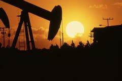 Taladro del petróleo Fotografía de archivo