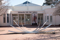 Taladro Hall Gallery, ANU Imagen de archivo libre de regalías