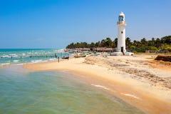 Talaimannar Lighthouse, Sri Lanka stock image