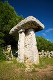 Talaiotic monument at Menorca Stock Photography