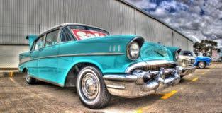 50-talamerikan Chevy Arkivfoto