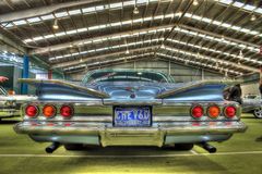 60-talamerikan Chevy Impala Royaltyfri Bild