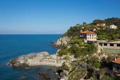 Talamone Italie Photos libres de droits