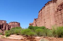 Talampaya Canyon, Argentina Royalty Free Stock Image