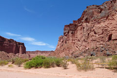 Talampaya Canyon, Argentina Royalty Free Stock Photography
